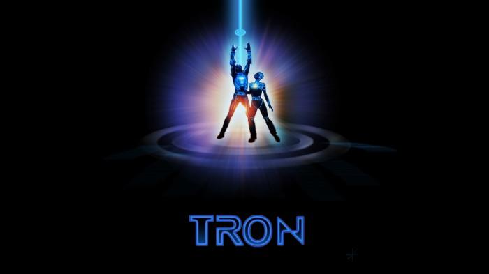 original tron movie poster