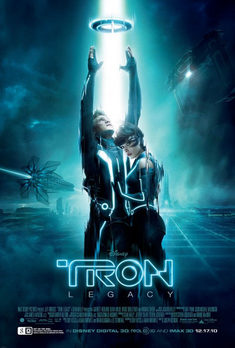 tron legacy vertical movie poster