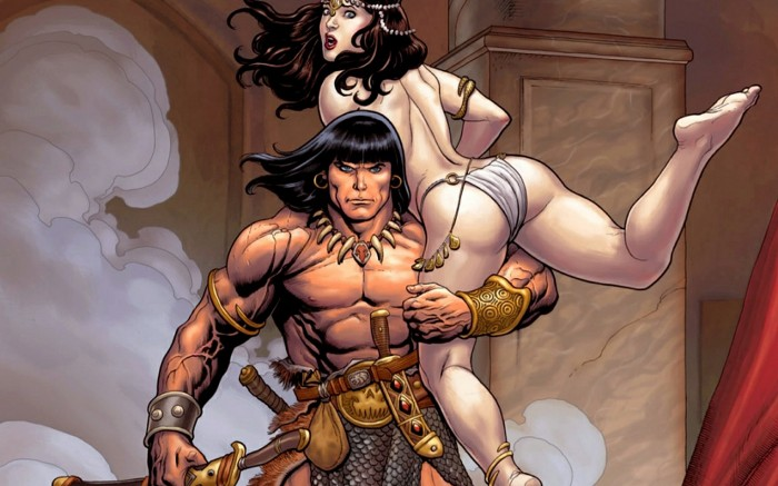 conan with woman