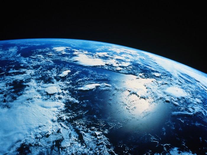 earth is blue