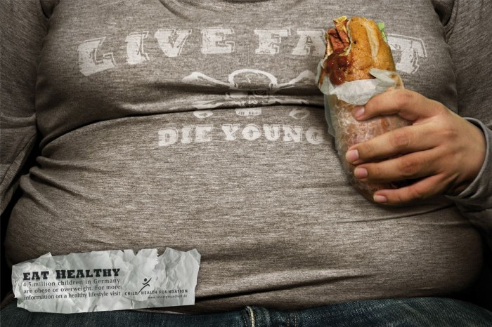 live fat - die young