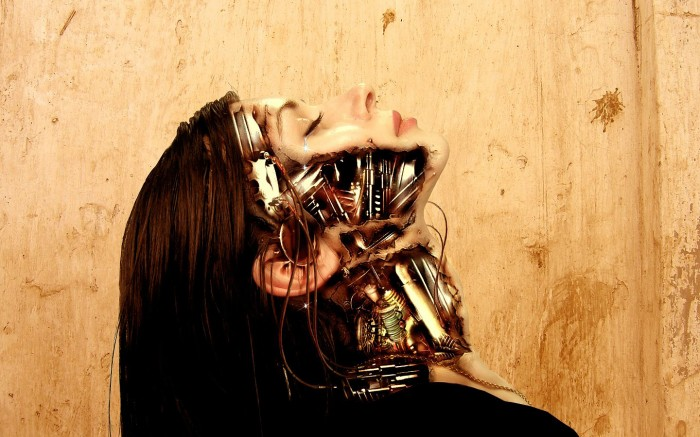 mechanical woman