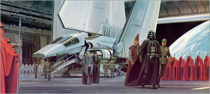 star wars landing concept art