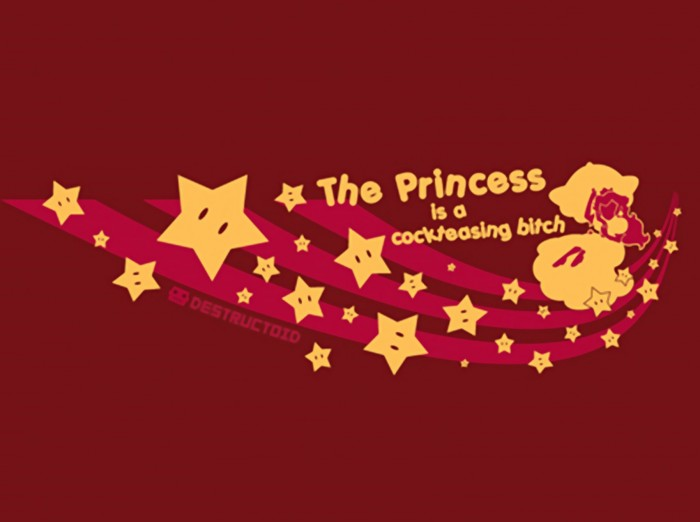 the princess is a cockteasing bitch