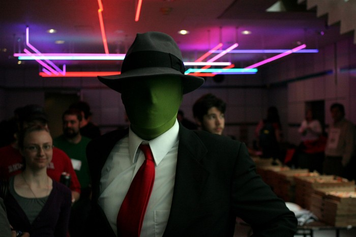 anonymous cosplayer