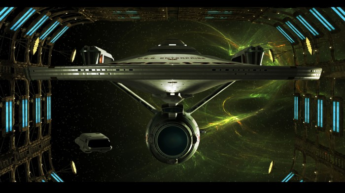 enterprise-A in space dock