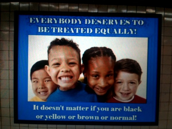 everyboy deserves to be treated equally everyboy deserves to be treated equally Racist Humor