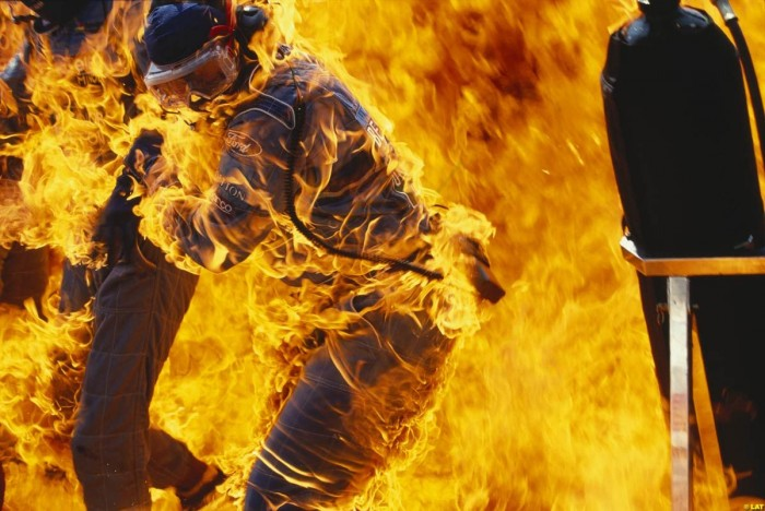 ford on fire 700x468 ford on fire wtf Wallpaper