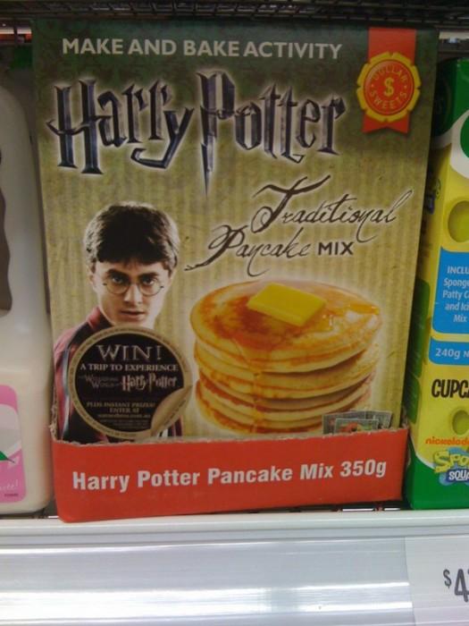 harry potter pancakes