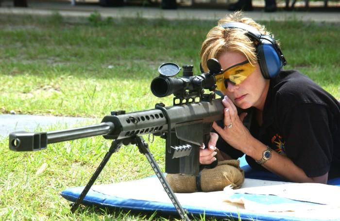 blonde sniper