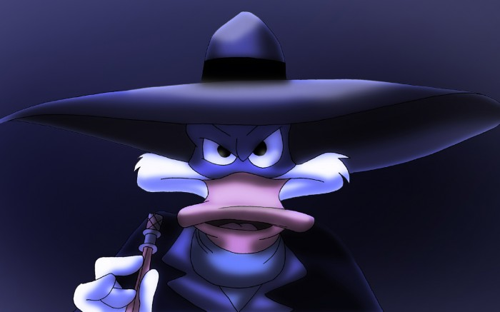 darkwing duck in the shadows
