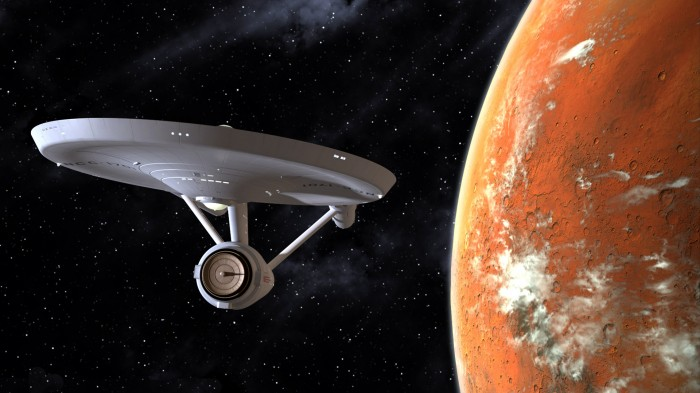 enterprise in orbit
