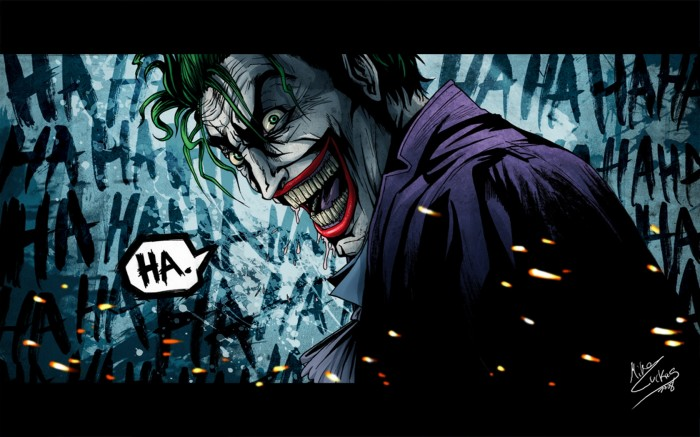 joker says hah