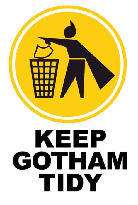 keep gotham tidy keep gotham tidy Humor Forum Fodder batman