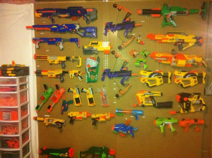 nerf armory