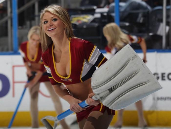 sexy hockey girl