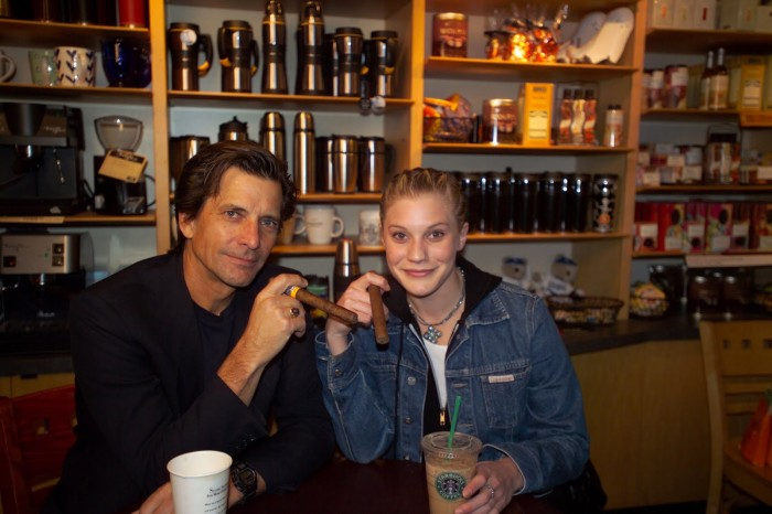 starbuck and starbuck in a starbucks