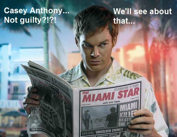 dextercasey Casey Anthony Not Guilty? wtf telvision Politics Humor