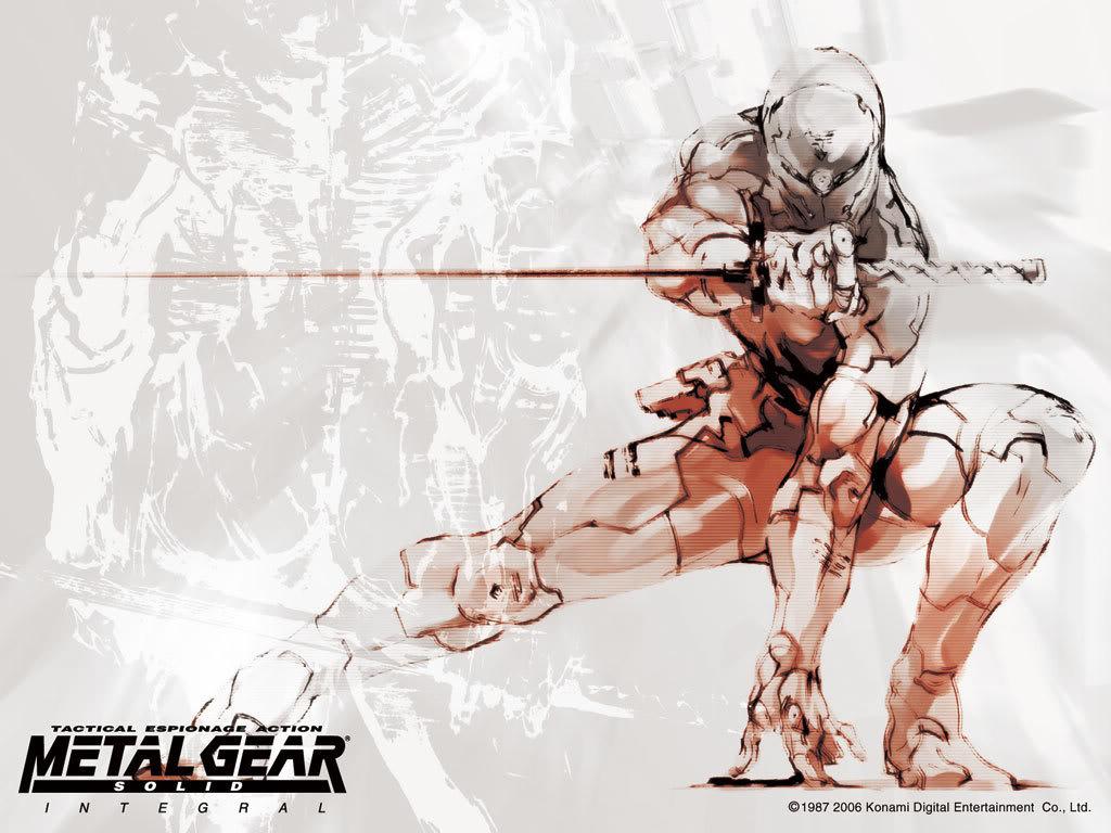 mgs MGS Cyborg Ninja Wallpapers Wallpaper metal gear solid Gaming