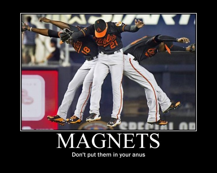 Magnets - dont put them in your anus