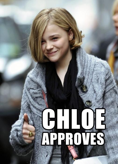 chloe approves 505x700 chloe approves Humor Forum Fodder chloe grace moretz