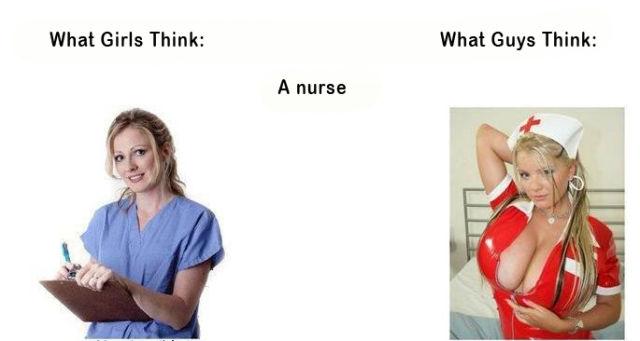 girls vs guys – nurse