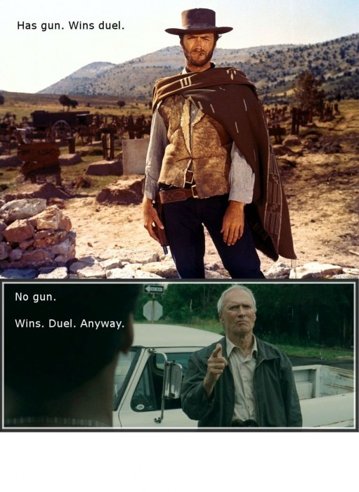 has gun - no gun