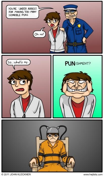 horrible puns