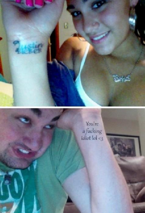idiot tattoo