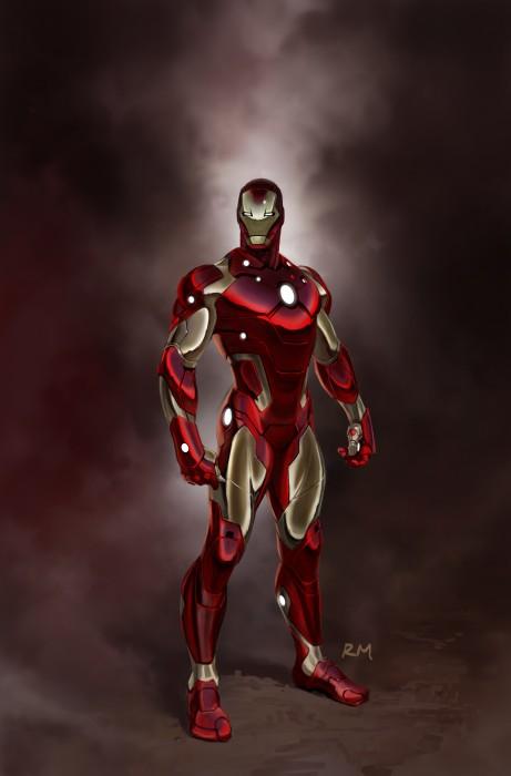 iron man vertical