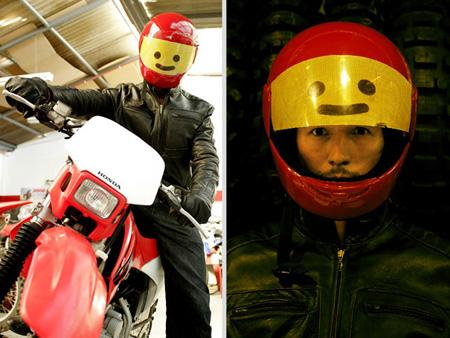 lego head helmet
