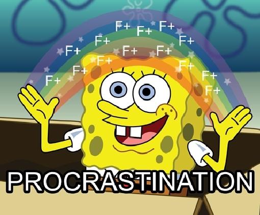 procrastination procrastination