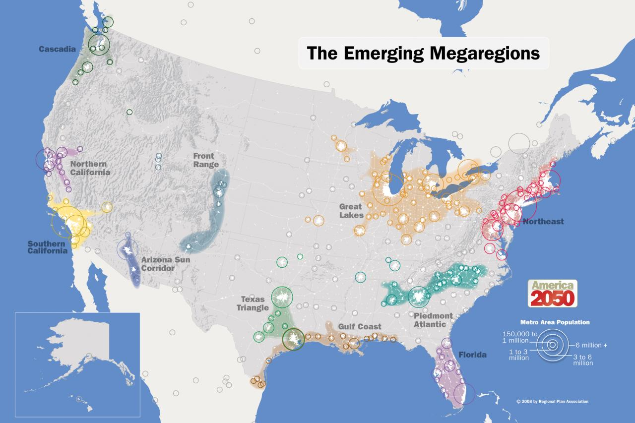 the emerging megatregions