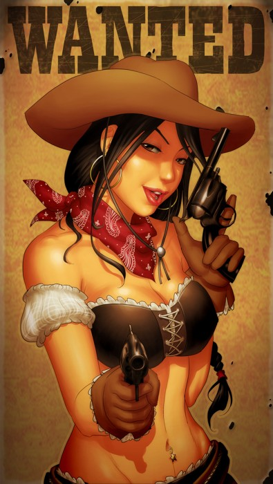 wanted cowgirl
