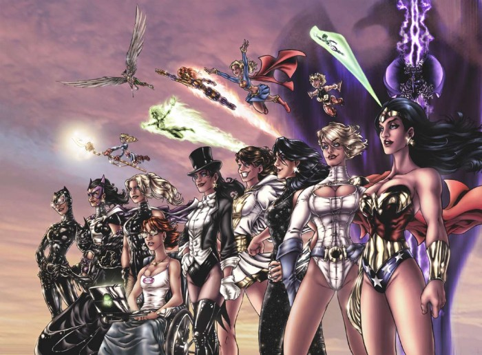 women of the DCU 700x515 women of the DCU Wallpaper Sexy NeSFW comci books