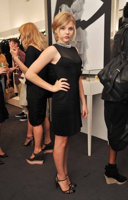 cloe moretz in a sheer black dress 449x700 cloe moretz in a sheer black dress