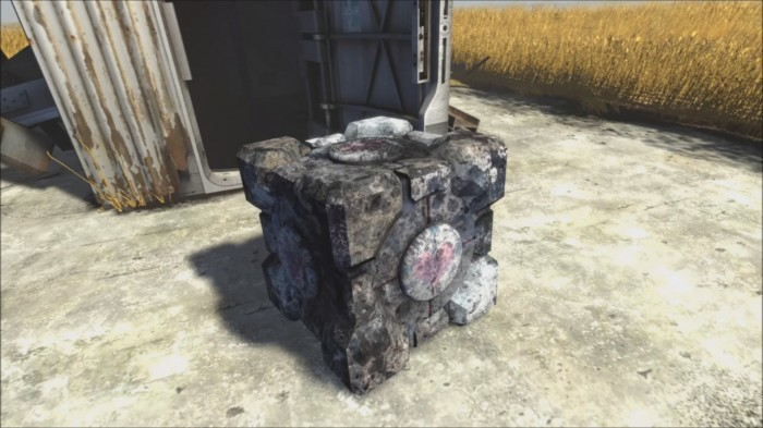 dirty companion cube