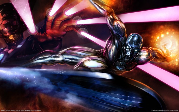 galactus vs the silver surfer