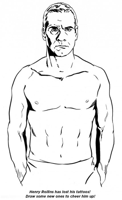 henry rollins - tattoos