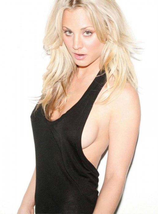 kaley cuoco - maxim magazine march 2010