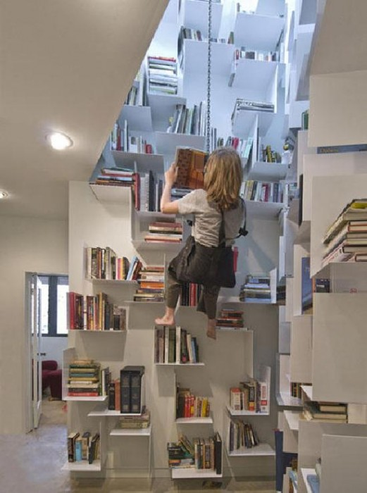 modern home bookcase