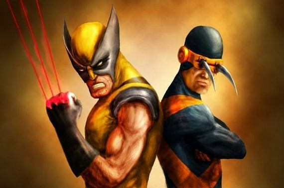 wolverine and cyclops switch wolverine and cyclops switch wtf Humor Comic Books