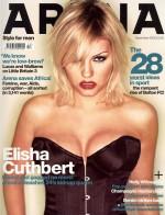 elisha cuthbert magazine corset cover 150x196 elisha cuthbert super post Wallpaper Television Sexy Movies