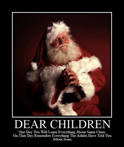 Dear Children - Remember Santa