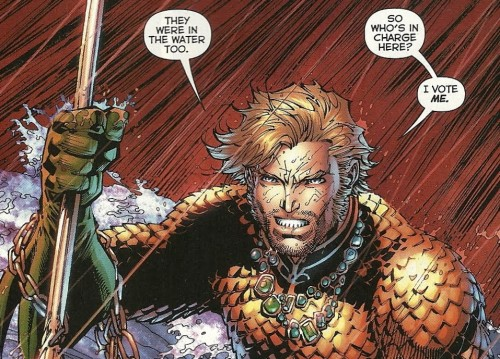 aquaman is in charge