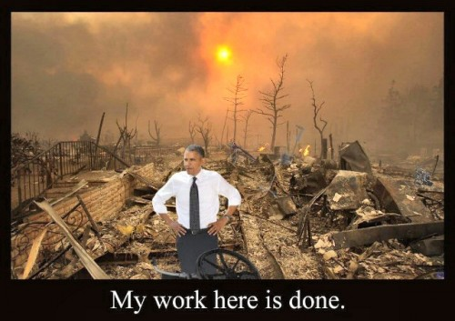 obama - my work here is done