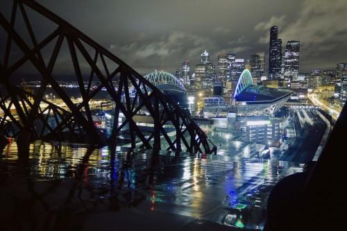 pretty city at night