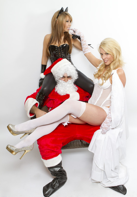 santa pimp Santa is a pimp X Mas Sexy Humor