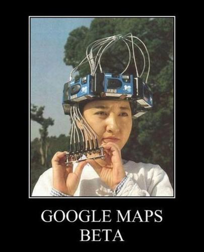 google maps beta