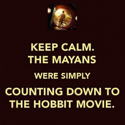 keep calm - the mayans
